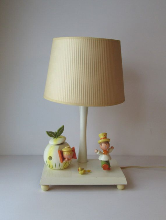 Vintage Irmi Childrens Lamp By Goodvintage On Etsy 32 50