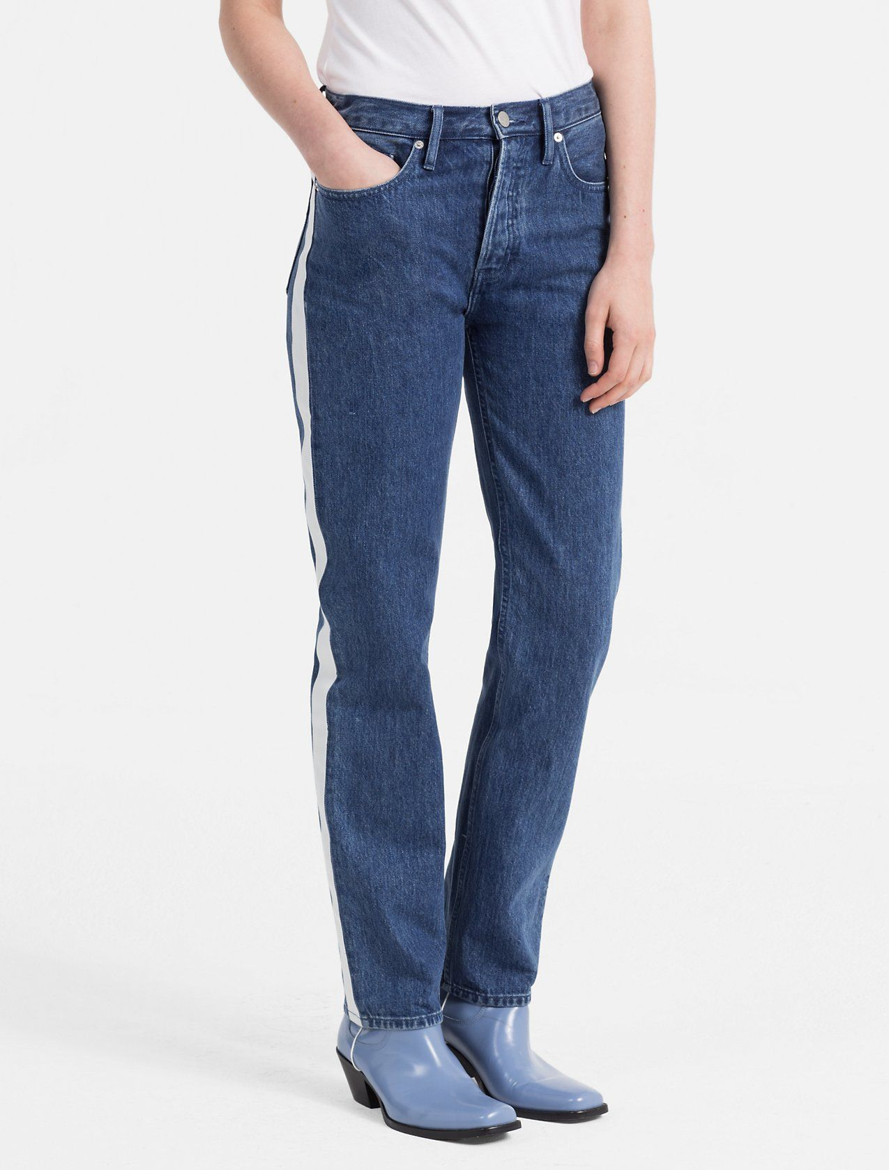 Calvin Klein Jeans Tapered Rip and