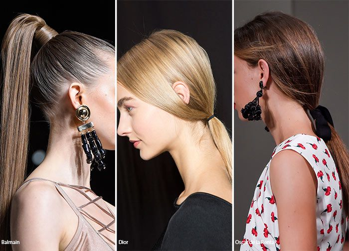 Spring/ Summer 2016 Hairstyle Trends: Ponytails