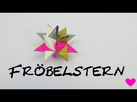 Fröbelsterne falten.wmv - YouTube