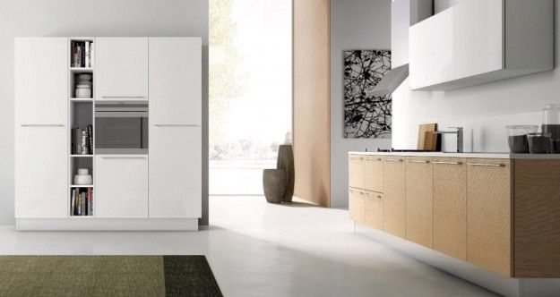 Cucine legno chiaro moderne cerca con google cucine - Cucine in legno chiaro ...