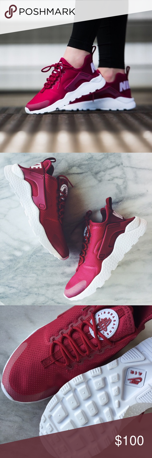 new concept a8a41 a2b0e Nike Air Huarache Ultra Sneakers •The Nike Air Huarache Ultra Women s Shoe  is crafted with a stretchy one-piece upper, seamless molded details and an  ...