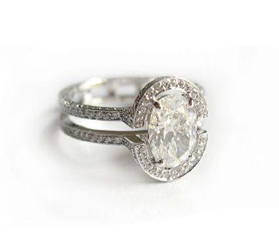 Bague de Fiançailles Diamants - Sandrine Tessier - Made in Joaillerie f638dd1c26ba