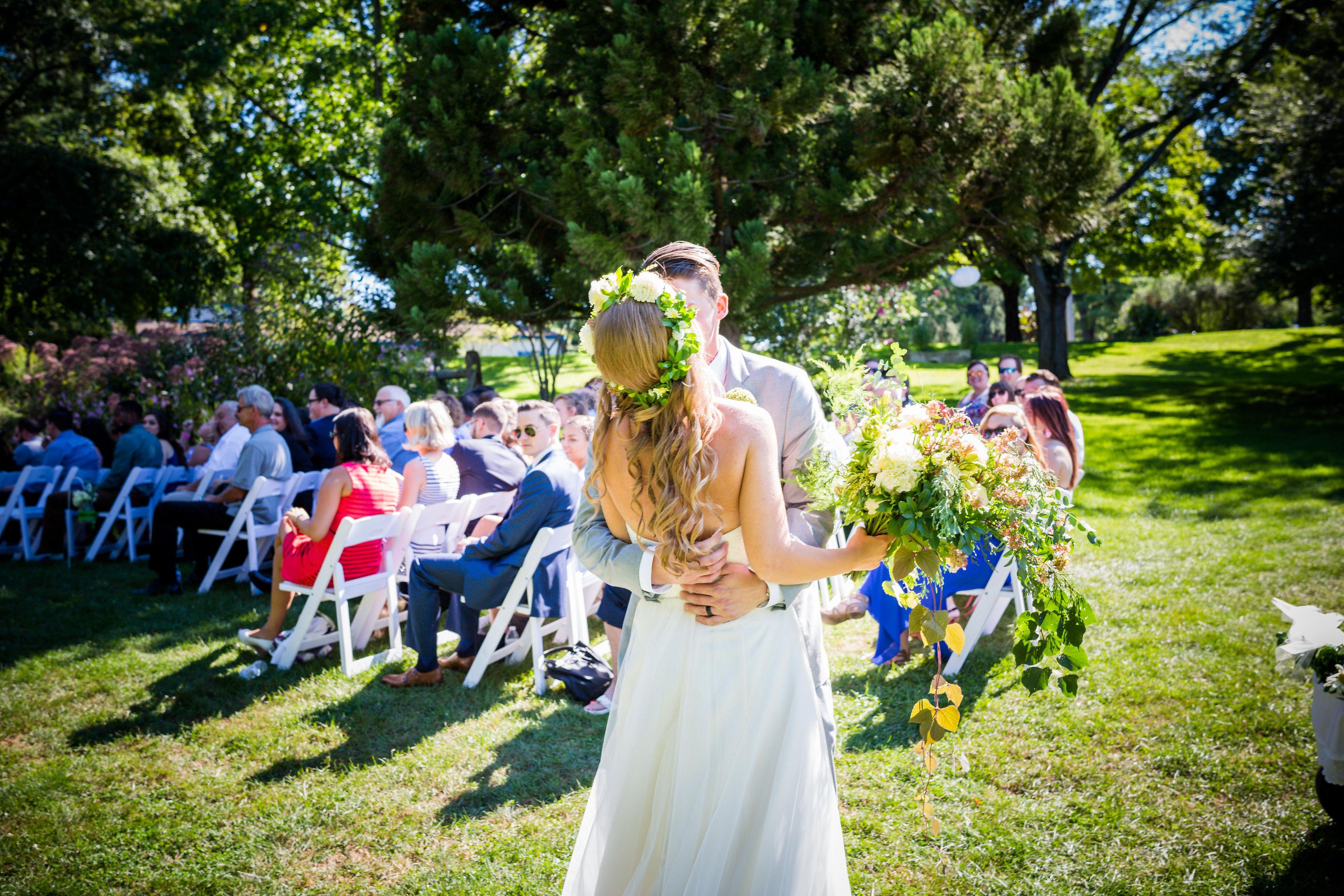 Walking Down The Aisle Garden Of Five Senses My Wedding Ceremony [ 2667 x 4000 Pixel ]