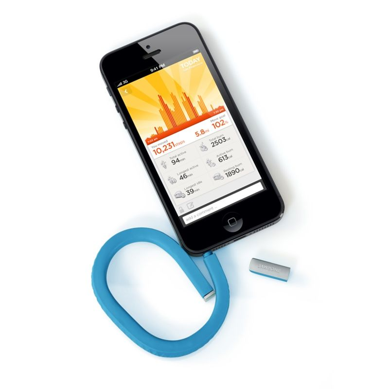UP by Jawbone is a wristband plus app for your iPhone