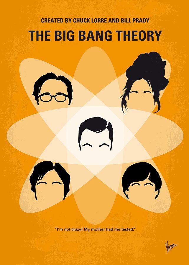 Poster Print The Big Bang Theory Wall Art Home Decor Gift