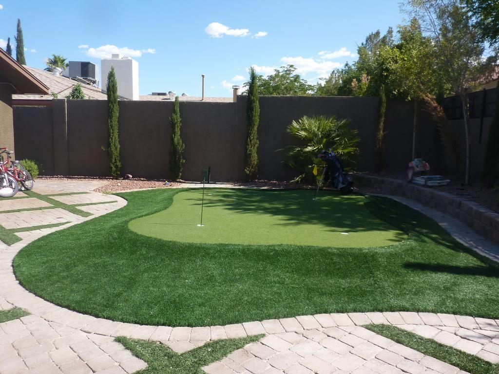 Desert Landscaping | Desert Greenscapes Water Wise Grass ...