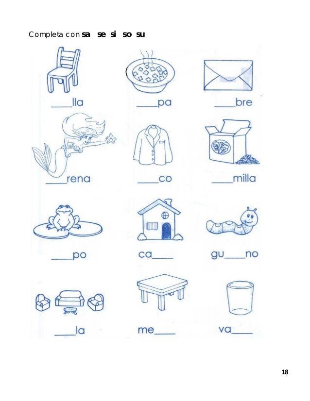 espaolaprendiendoaleer1-18-638.jpg (638×826) | Lecto escritura pekes ...
