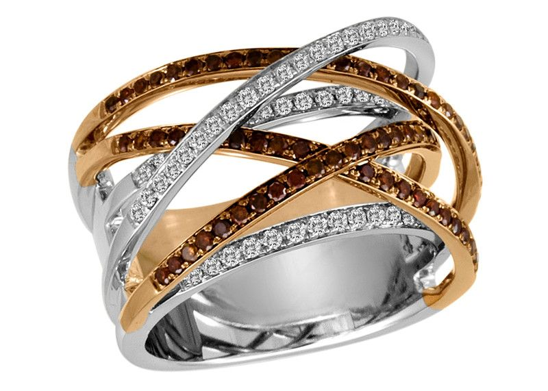 But only with white gold or silver band colored diamonds