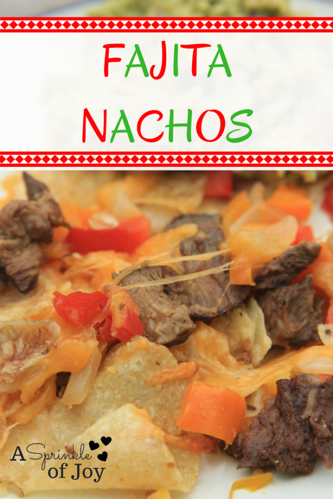#ad Looking for a twist on fajitas? Check out these simple and tasty fajita nachos  #BuschsMarket #CantonGrocery #BuschsLocal #ad