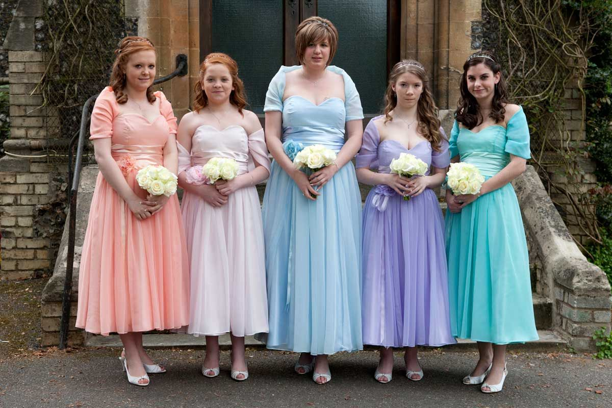 Bridesmaid dress trends since 1920
