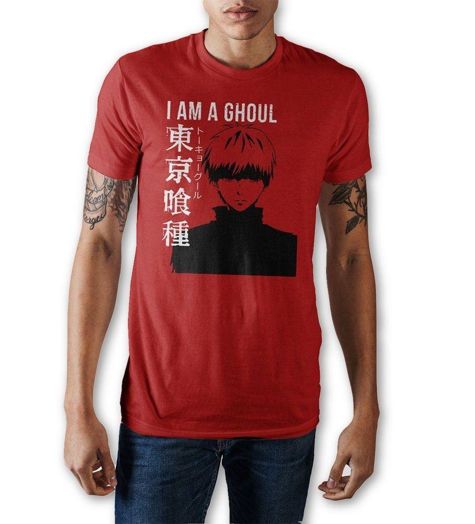 I Am A Ghoul Crew Neck T Shirt | Best t shirt designs, Mens