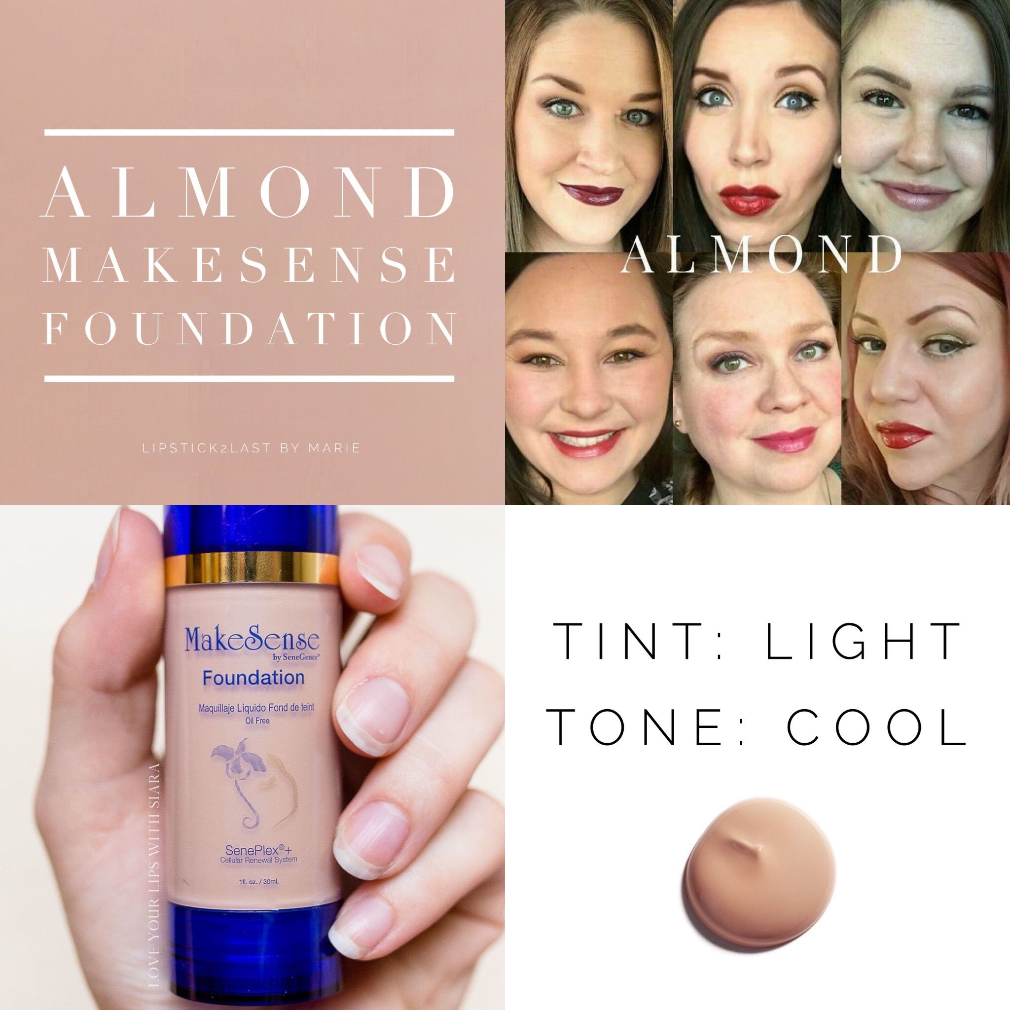 Almond Foundation LipSense SeneGence Have questions or
