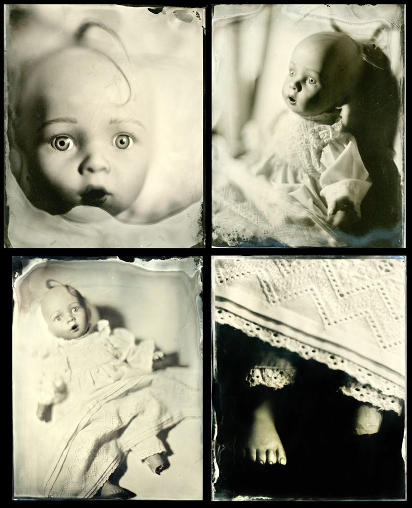 Wetplate Collodion Photography: Strangers in Paradise