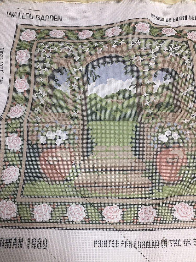 Walled Garden Ehrman Tapestry Kit Gift To Stitch Needlepoint
