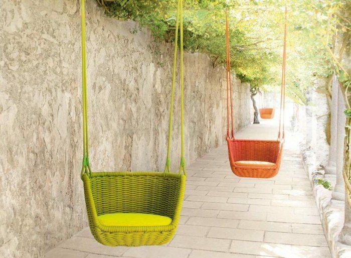 Gartenmöbel - Schaukel von Paola Lenti | kreative gartenideen ...