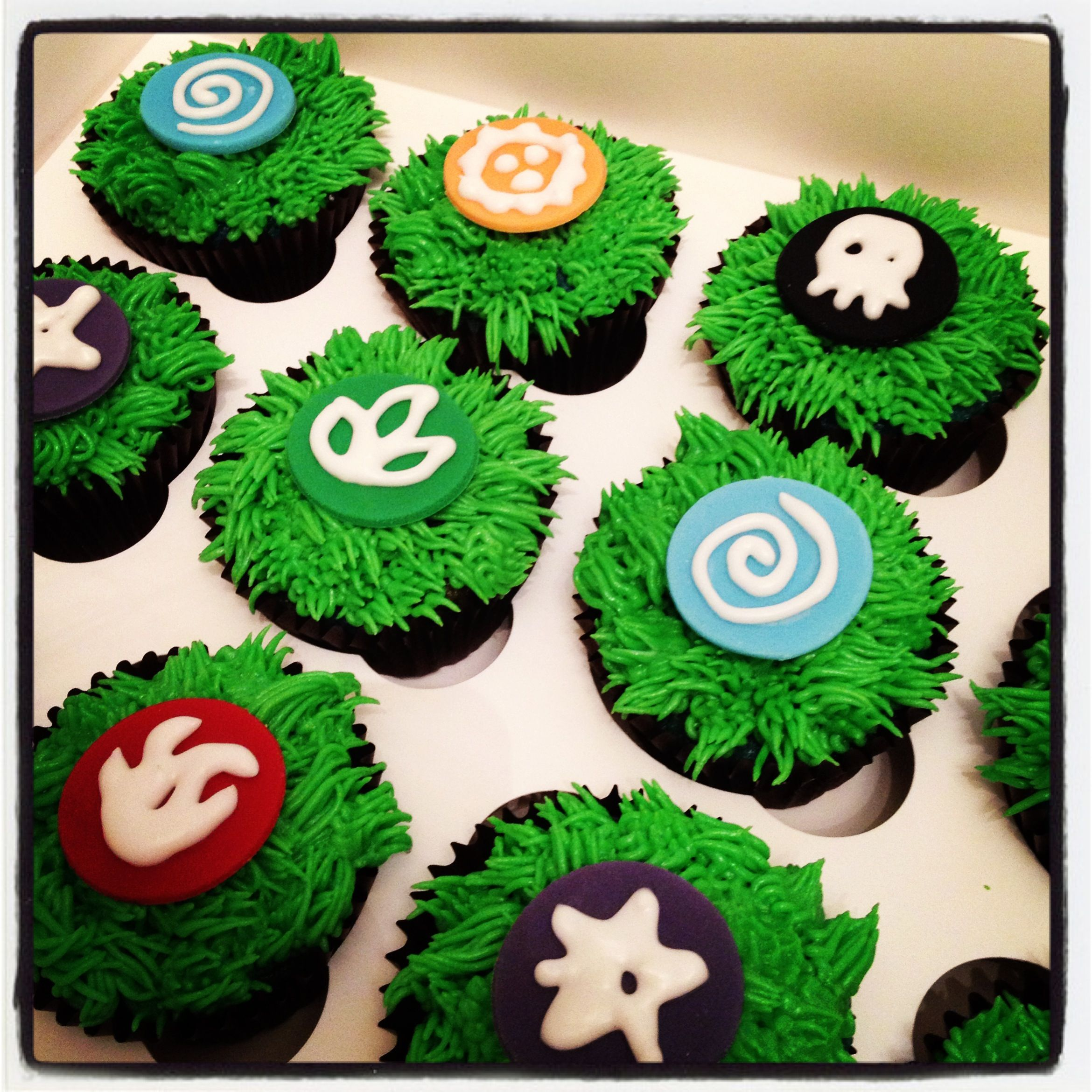 Skylanders Cupcakes Skylanders BDay Party Pinterest