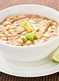 Skinny White Chicken Chili! LOVE this recipe - pin now try later!!
