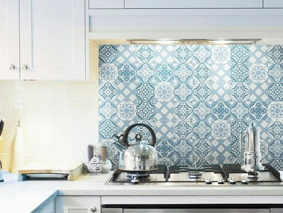 How To Install A Removable Wallpaper Backsplash Wallpaper Backsplash Kitchen Kitchen Wallpaper Removable Wallpaper Kitchen