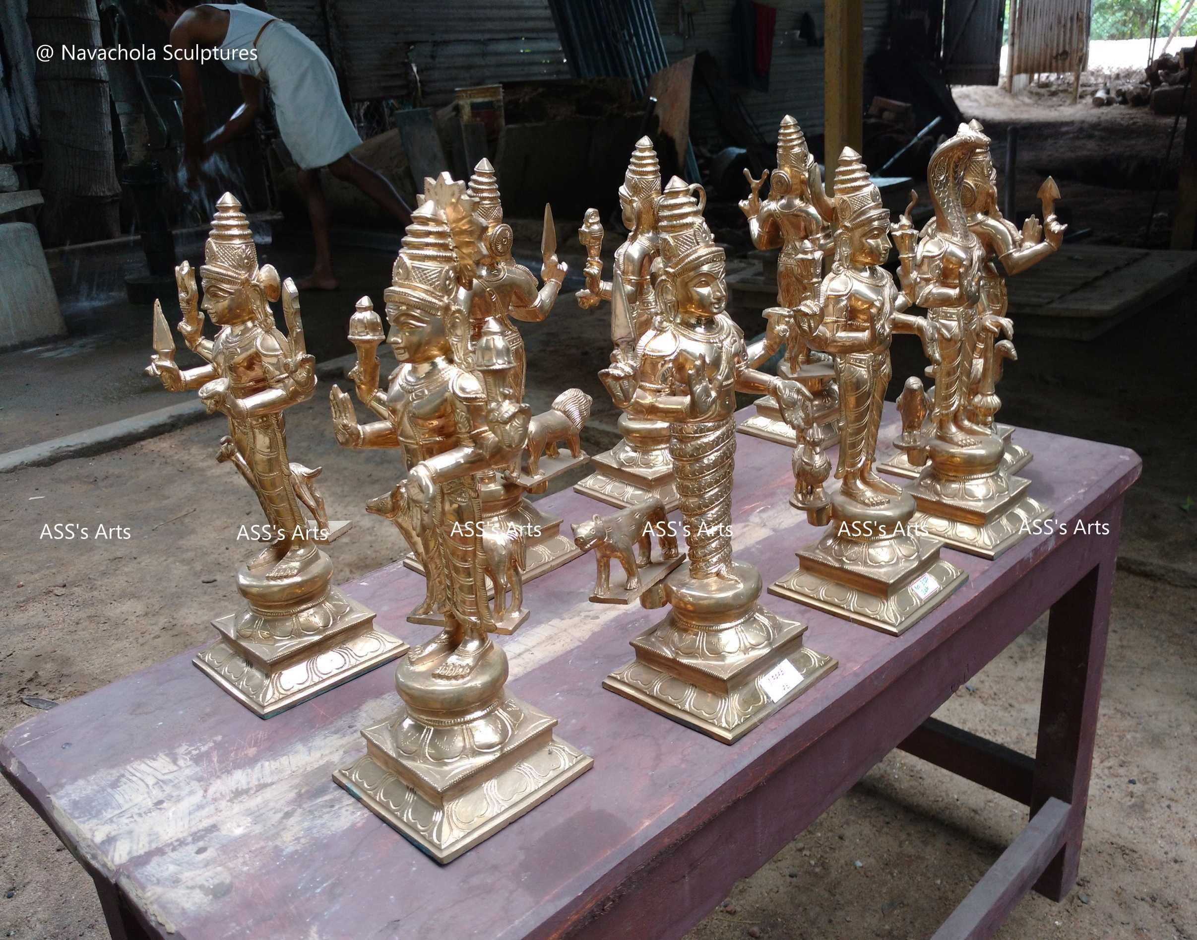 Navagraham SET 15 inches SET Temple Order. For more