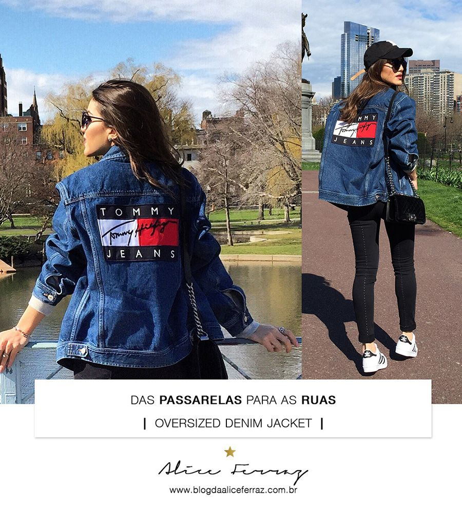 From the Runways to StreetStyle Oversized Denim Jacket
