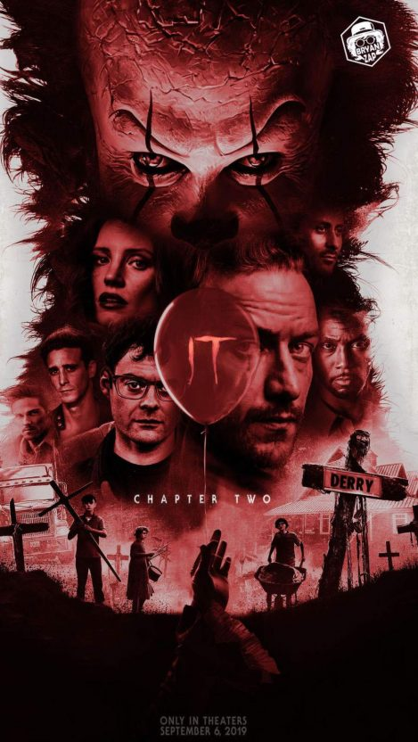 It Chapter Two Iphone Wallpaper Free Getintopik Iphone Wallpaper Horror Movie Art Wallpaper