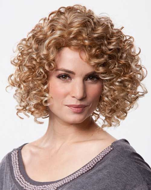 20 Super Curly Short Bob Hairstyles Loose Perms Curly