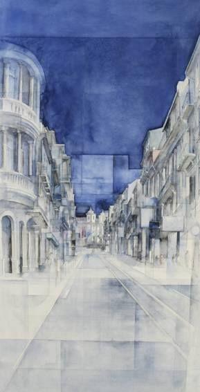 """""""Mulher, Cidade Porto"""" de Paulo Ossião em Galeria AP'ARTE"""