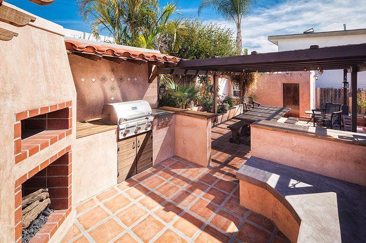 Spanish Tuscan Outdoor Kitchen Design San Diego Outdoor Kitchen Design Tuscan Landscape Design Tuscan Landscaping
