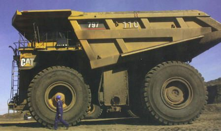 Comparative Sizes Dump Trucks Trucks Big Trucks