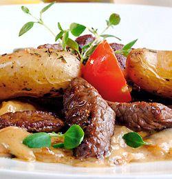 Meat and potatoe stew