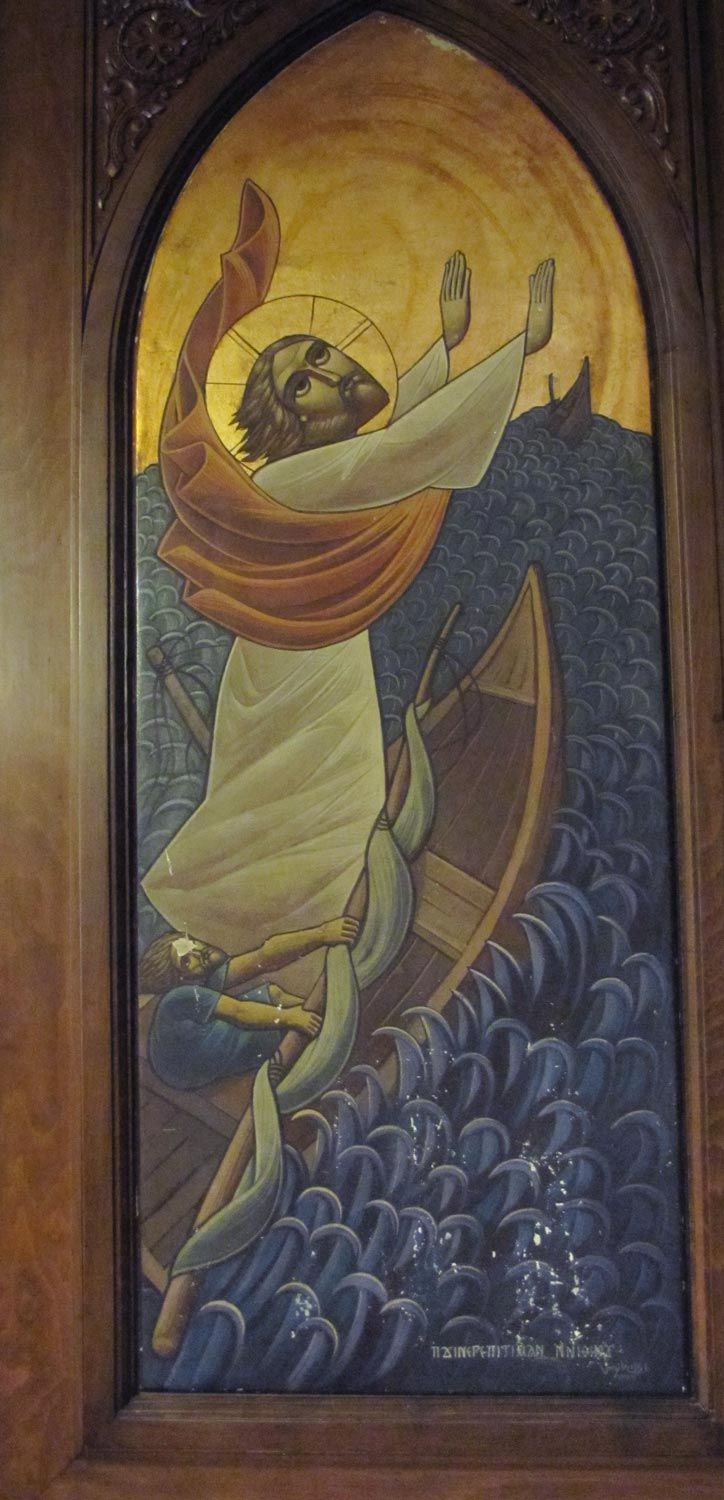 Icon by Isaac Fanous, St Mary's, Ard El Golf, Cairo