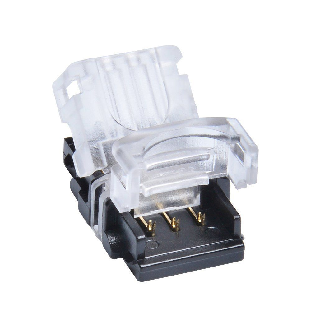 3 Pin Connectors For Ws2812b Led Strip Lights Diy Strip To Wire Waterproof Led Lights Light Accessories Digital Light