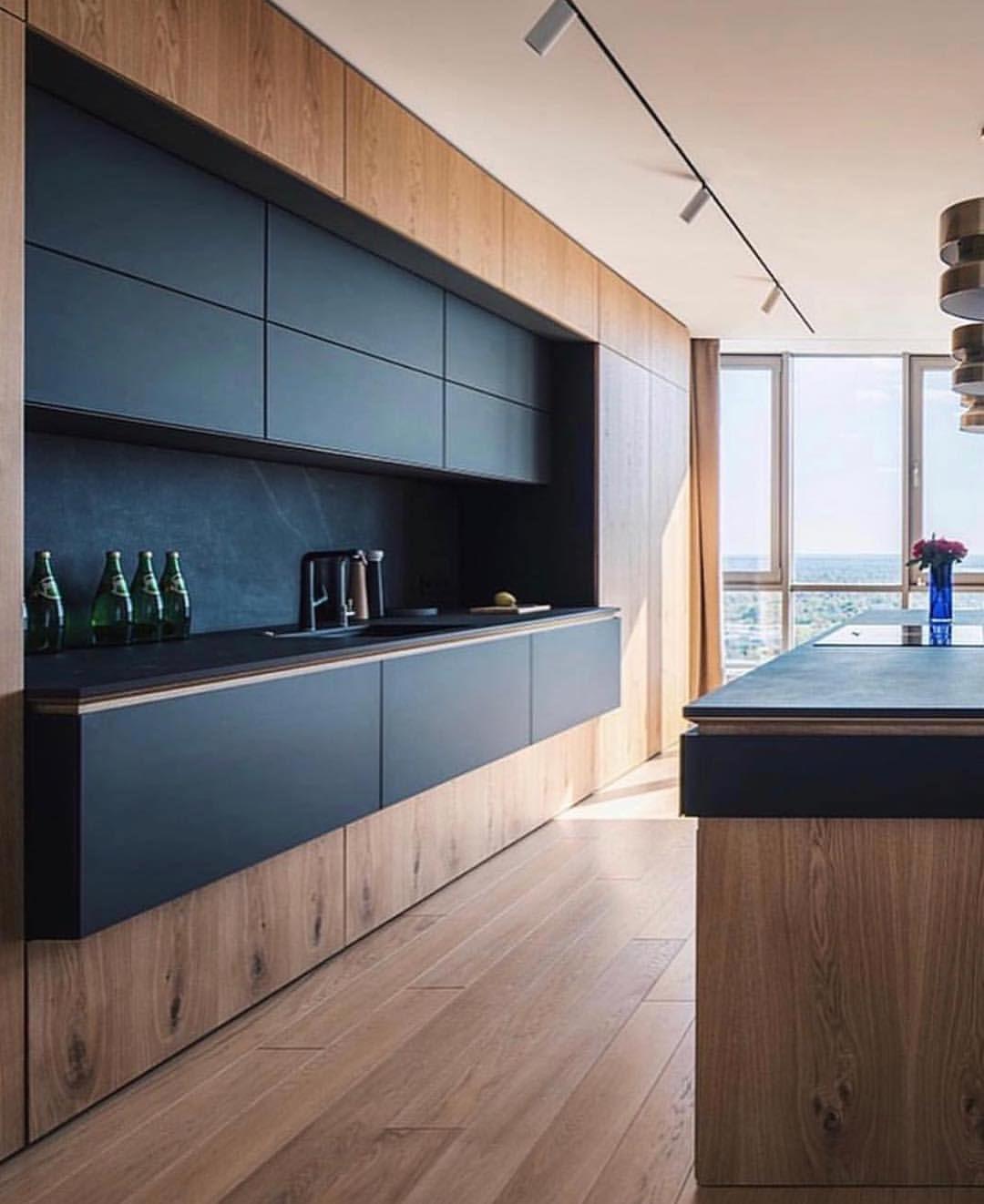 """Photo of Kjøkken på Instagram på Instagram: """"Elsker dette naturlige treverket! Fantastisk design fra @grimandesign """""""
