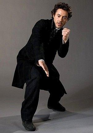 Bring it on. (Robert Downey Jr. as Sherlock Holmes)