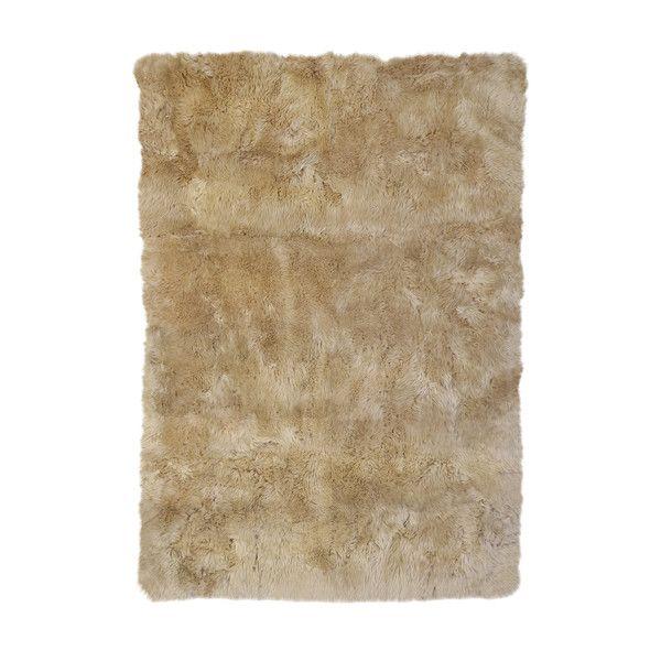 DwellStudio Sheepskin Longwool Linen Rug | DwellStudio