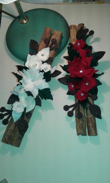 anice MGS SHOP Deko stella di cocco decorazioni naturali cannella Set di decorazioni natalizie con muschio rondella darancia idee creative