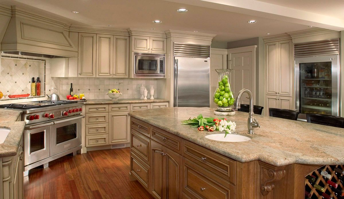 Image of: Transitional Kitchen Design Bath Creations | kitchen ...