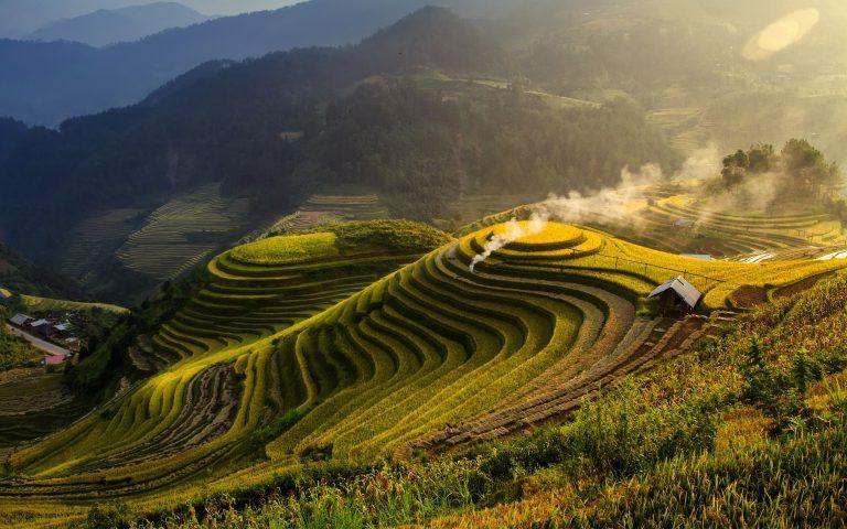 Landscape Windows 10 Stock Widescreen Landscape Wallpaper Vietnam Tourist Landscape