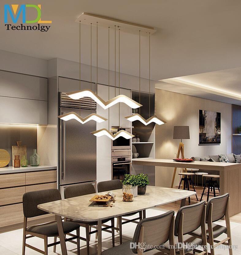Modern LED Pendant Chandelier Lights for Parlor Bedroom