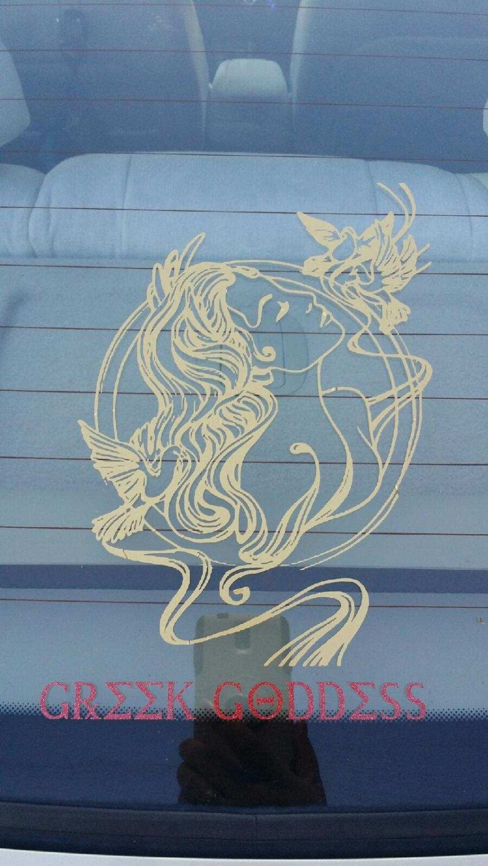 Car Decal Greek Goddess Aphrodite By Comstockkreations On Etsy Car Decals Etsy Greek Goddess [ 1500 x 844 Pixel ]
