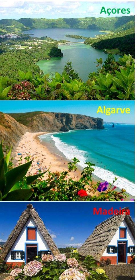 Açores, Algarve & Madeira