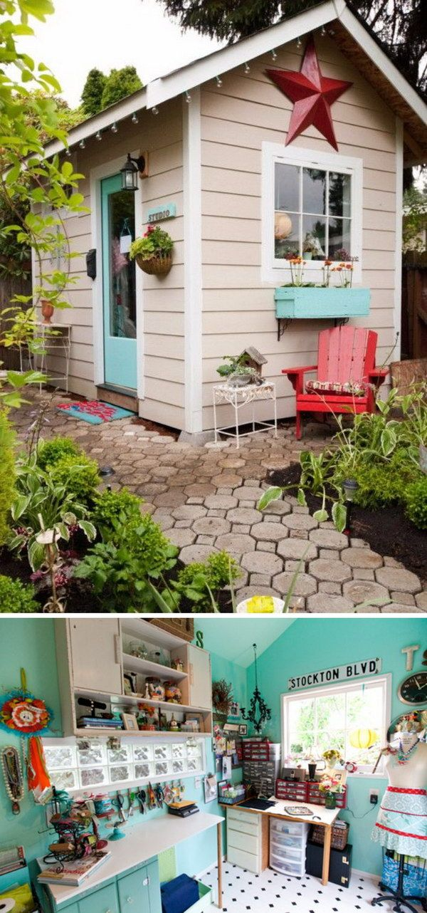 More At She Shed Ideas Fosterginger Pinterest