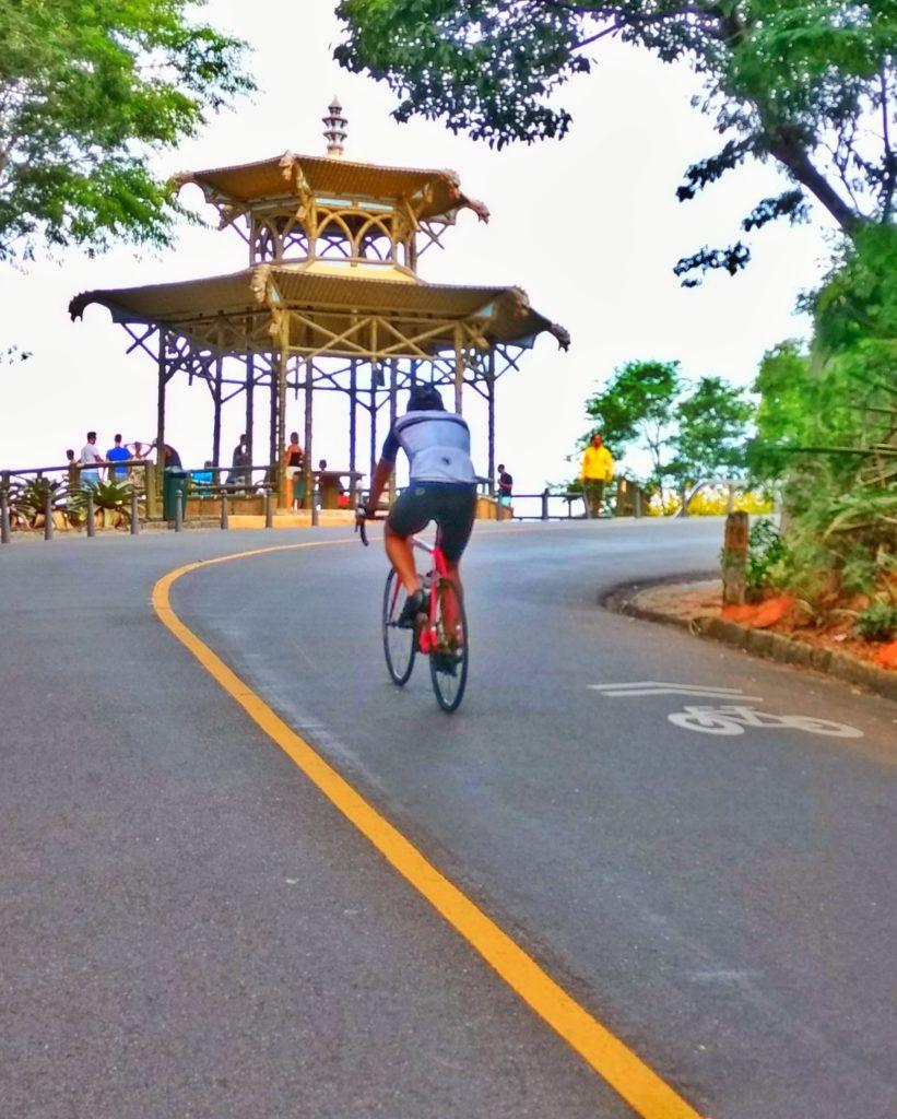 Pedalando forte Vista chinesa, Ciclismo, Forte