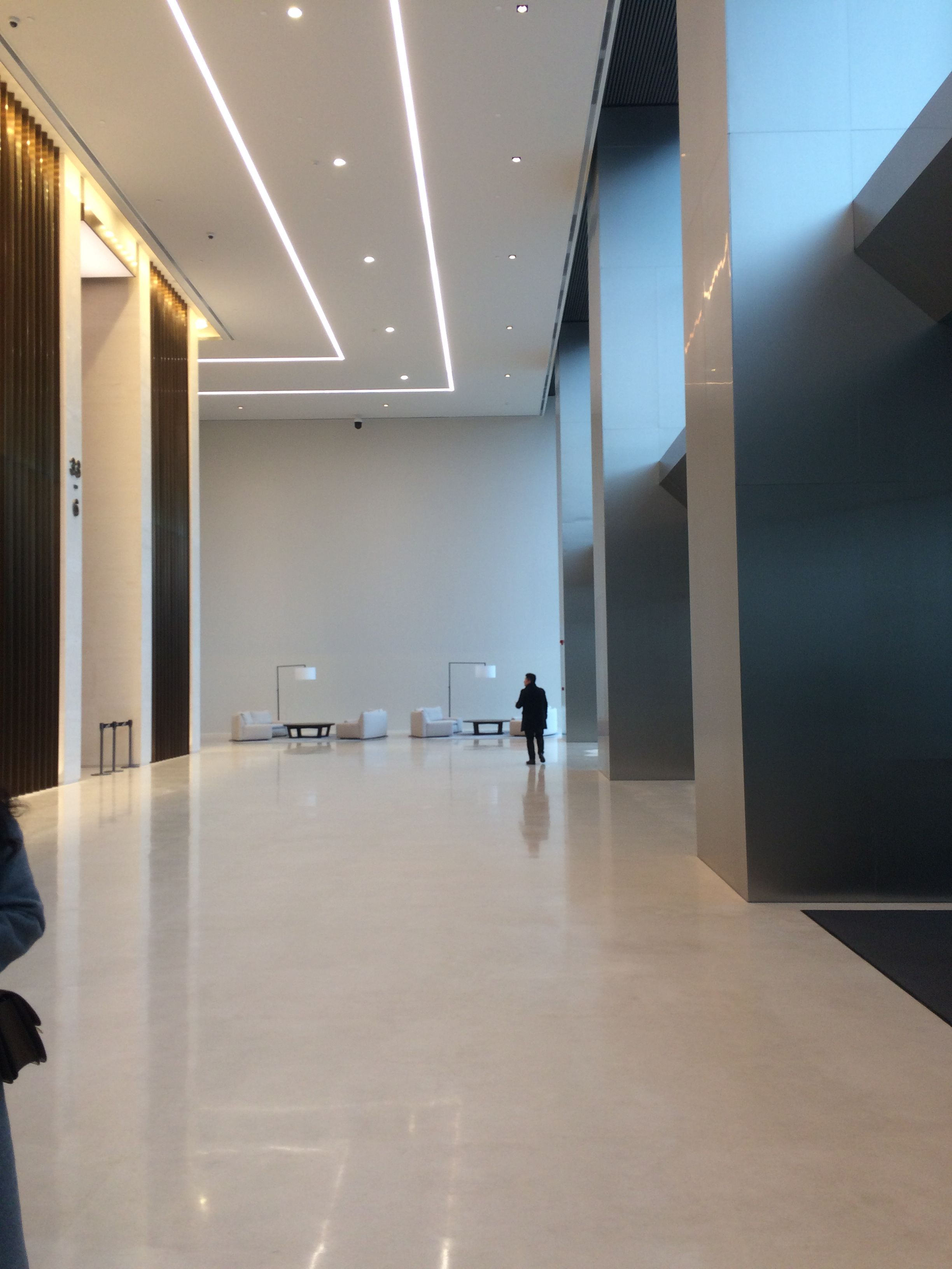 Pin By Liang Chunlan On 办公室 Lobby Design Architectural