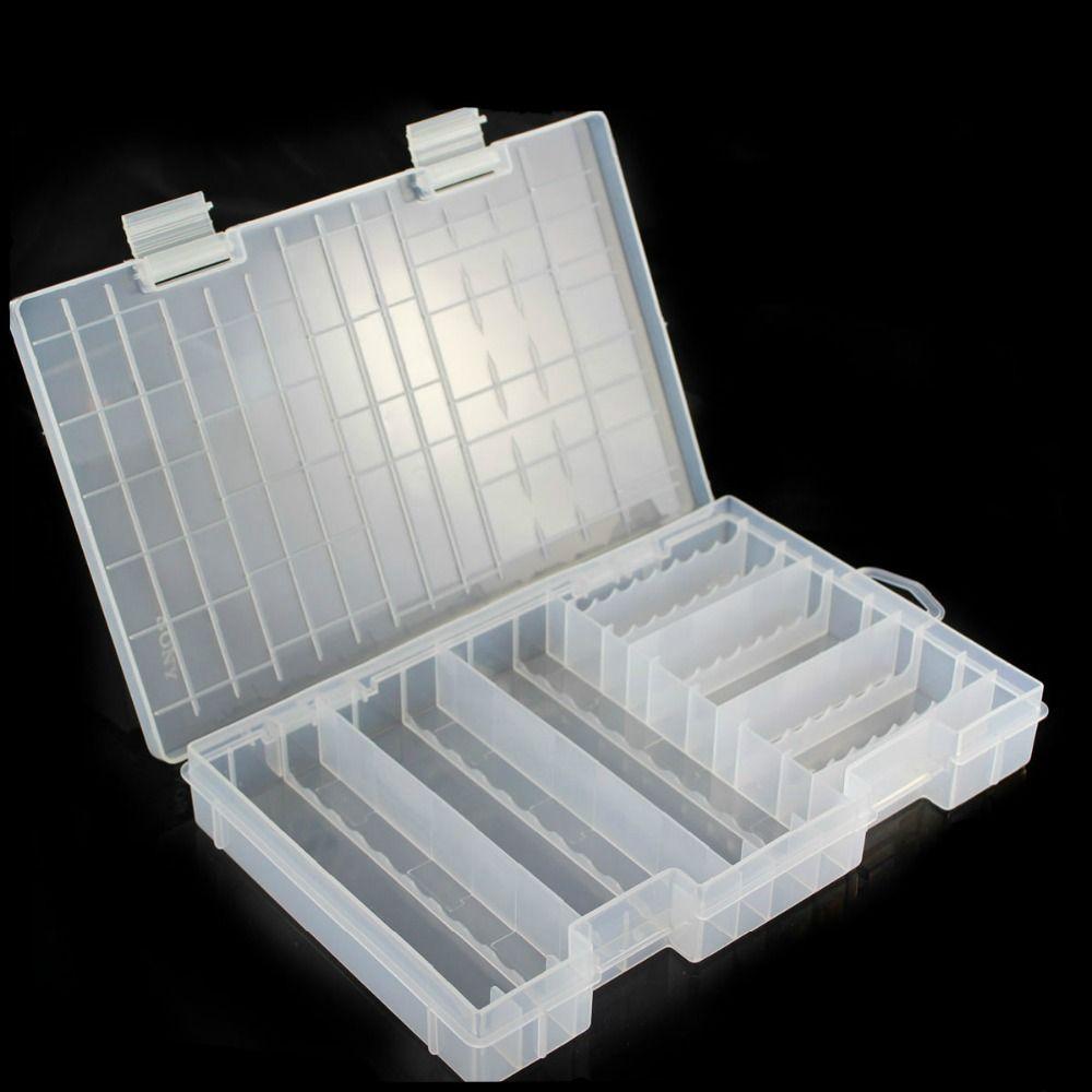Click To Buy U003cu003c Super Volume Transparent Plastic Battery Storage Box For  Placed