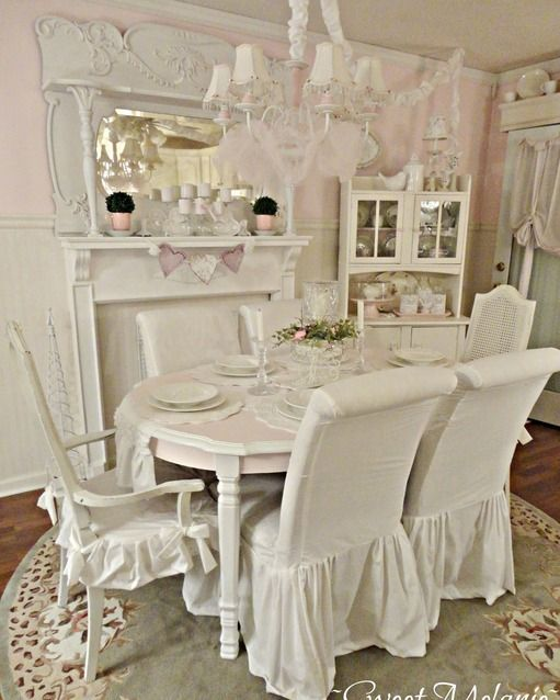 shabby chic dining room ly pinterest gute ideen wohnen und ideen. Black Bedroom Furniture Sets. Home Design Ideas