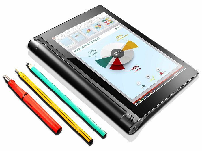 the new 8inch lenovo yoga tablet 2 comes with windows 81 and new anypen technology