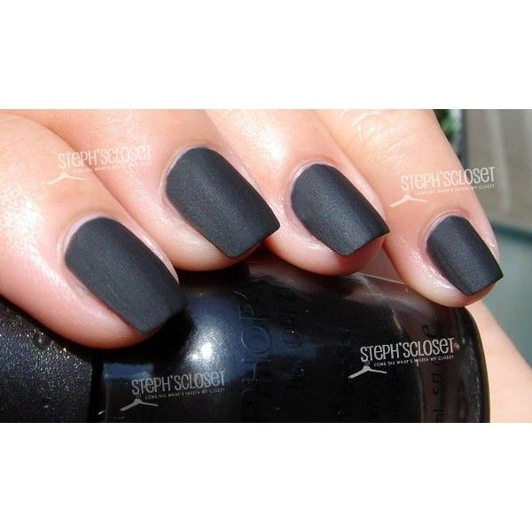 Sephora by OPI Matte Nail Polish: Photo Swatches ❤ liked on ...