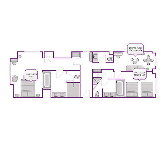 Las Vegas Suites 2 Bedroom Www Myfamilyliving Com